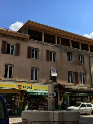 BARN ARCHITECTURE rénovation immeuble