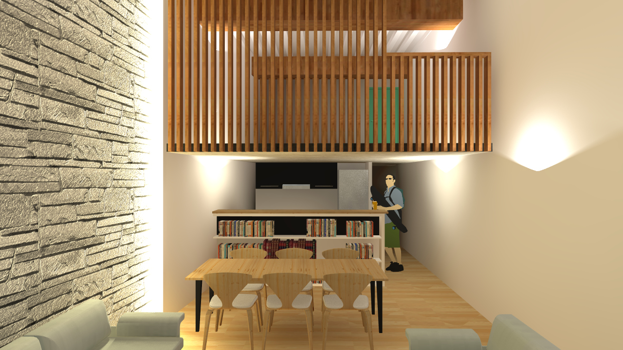 BARN ARCHITECTURE rénovation appartement monument historique